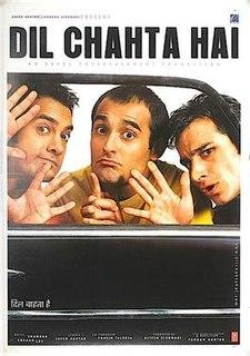 <i>Dil Chahta Hai</i> 2001 film by Farhan Akhtar