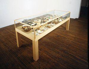 Roxy Paine - Roxy Paine's Dinner of the Dictators, 1993-95.