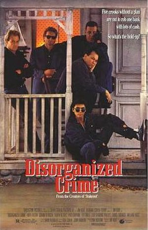 Disorganized Crime - Theatrical release poster