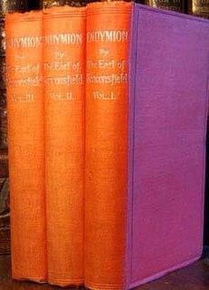 <i>Endymion</i> (Disraeli novel) novel by Benjamin Disraeli