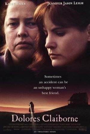 Dolores Claiborne (film) - Theatrical release poster