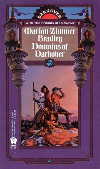 Domains of Darkover - Cover of the first edition
