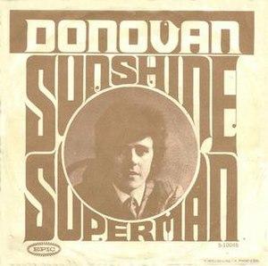 Sunshine Superman - Image: Donovan Sunshine Superman single