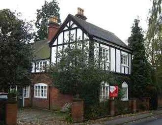 Dorridge - Dorridge Grove, former public house and asylum.