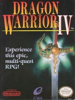 <i>Dragon Quest IV</i> role-playing video game