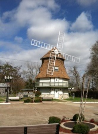 Nederland, Texas - Dutch Windmill Museum