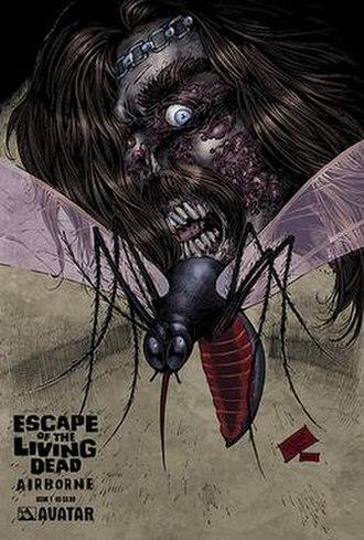 Escape of the Living Dead - Image: Escape of the Living Dead Airborne 01 cover