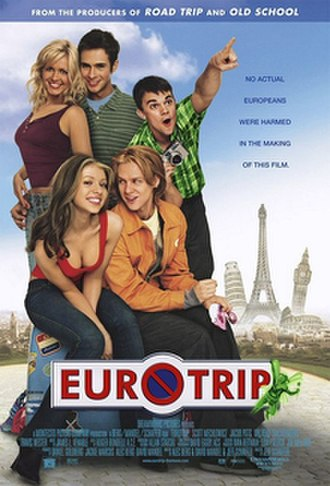 EuroTrip - Theatrical release poster
