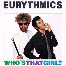 Eurythmics — Who's That Girl? (studio acapella)