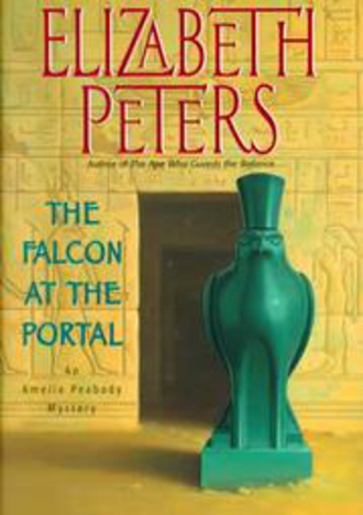 The Falcon at the Portal - First edition cover for The Falcon at the Portal