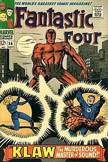 Klaw (character) Fictional supervillain