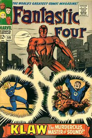 Klaw (Marvel Comics) - Image: Fantastic Four 056
