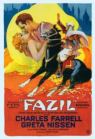 Fazil (film) - Theatrical release poster