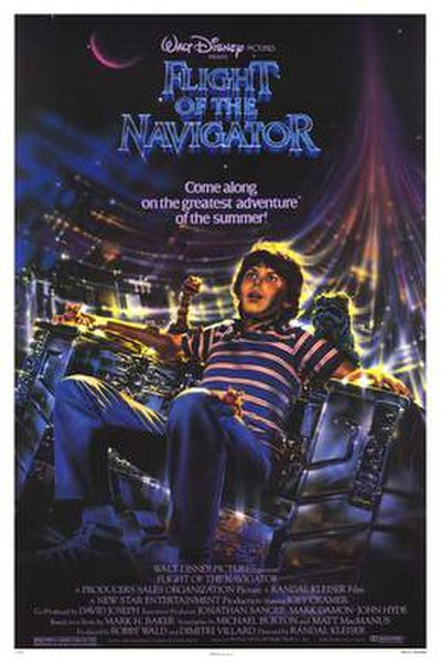 Picture of a movie: Flight Of The Navigator
