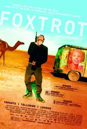 Foxtrot (2017 film) - Film poster