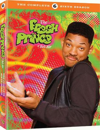 The Fresh Prince of Bel-Air (season 6) - DVD cover