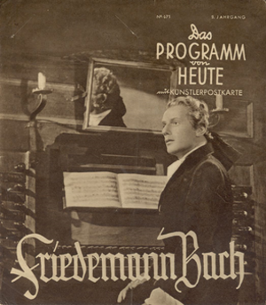 Friedemann Bach (film) - Image: Friedemann Bach (film)