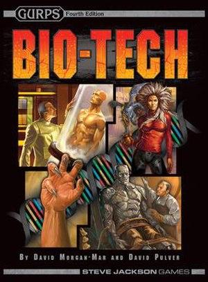 GURPS Bio-Tech - GURPS Bio-Tech Second Edition Front Cover