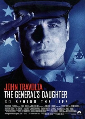 The General's Daughter (film) - Theatrical release poster