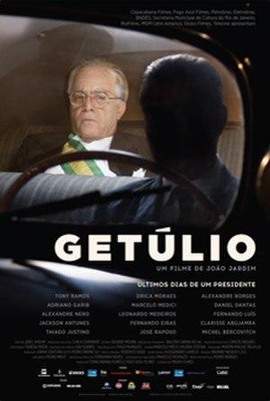 Getúlio (film) - Image: Getúlio Film Poster