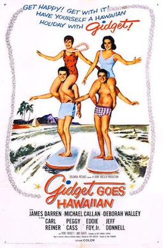 Gidget Goes Hawaiian - 1961 theatrical poster