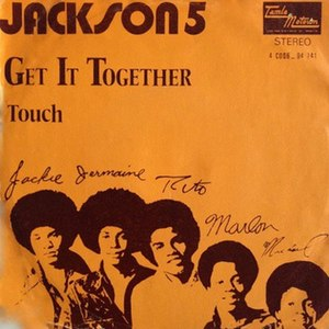 Get It Together (The Jackson 5 song) - Image: Gitj 5songart