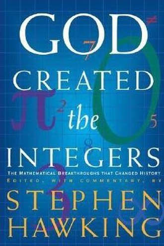 God Created the Integers - Cover of the first edition