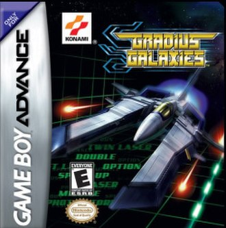 Gradius Advance - North American cover art