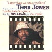 Image result for thad jones greetings and salutations