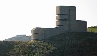 The Devil's Rock - The German Range Finding and Observation Tower MP4 in Guernsey, Channel Islands, which was the inspiration for the film