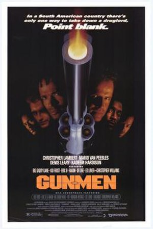 Gunmen (1994 film) - Image: Gunmen poster