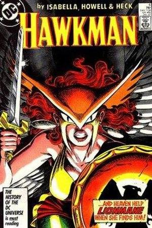 Hawkwoman - Image: Hawkwoman 1