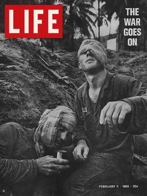 Henri Huet - Image: Henri Huet, LIFE cover, 110266