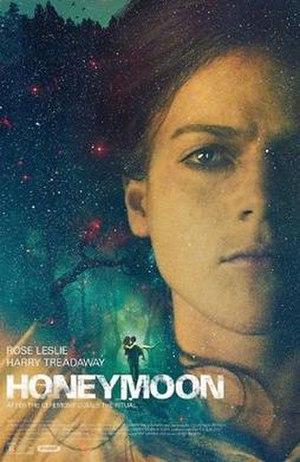 Honeymoon (2014 film) - Theatrical release poster