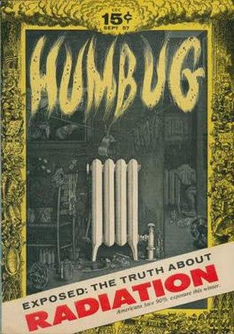 Humbug (magazine) - Image: Humbug issue 2 cover