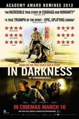 In Darkness (2011 film) - UK cinematic poster