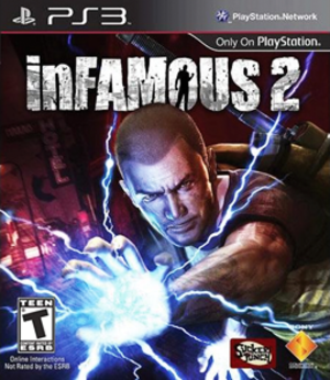 Infamous 2 - North American box art