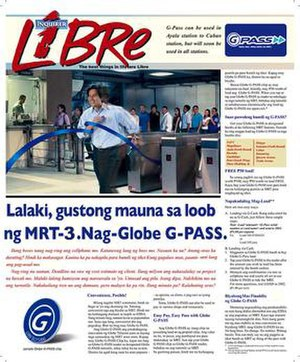 Inquirer Libre - Image: Inquirer Libre with G Pass