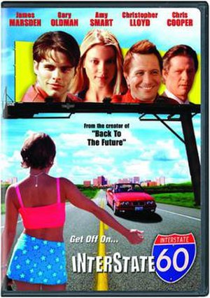 Interstate 60 (film) - DVD cover for Interstate 60