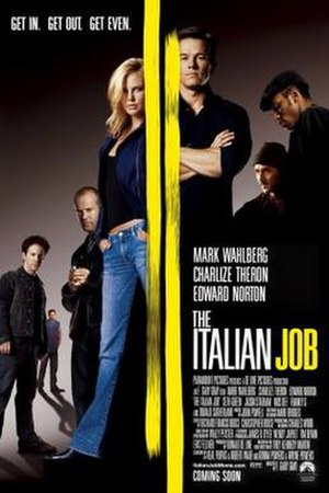 The Italian Job (2003 film) - Theatrical release poster