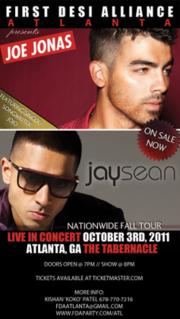 Joe Jonas & Jay Sean: Live in Concert