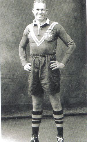 Jack Rayner ca 1949, Premiership player and coach Jack Rayner.jpg
