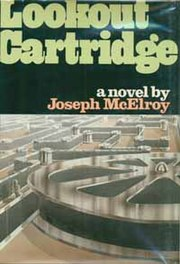 Joseph McElroy, Lookout Cartridge, cover.jpg