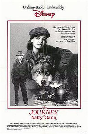 The Journey of Natty Gann - Promotional poster
