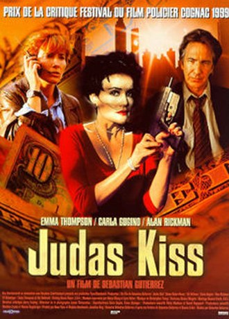 Judas Kiss (1998 film) - Theatrical release poster