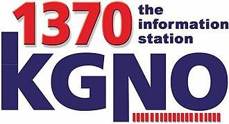 KGNO - Image: KGNO 1370 logo