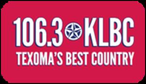 KLBC - Image: KLBC 106.3KLBC logo