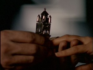 Kaddish (The X-Files) - The ceremonial Jewish ring. The ring was a real Jewish relic owned by a rabbi who survived the Holocaust, and was used to wed two of Howard Gordon's friends. This later inspired him to write the episode.