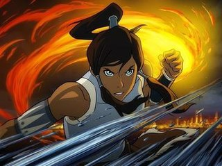 Korra Title character of The Legend of Korra animated television series