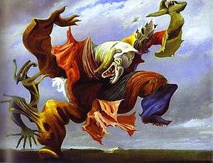Max Ernst - L'Ange du Foyer, (1937)
